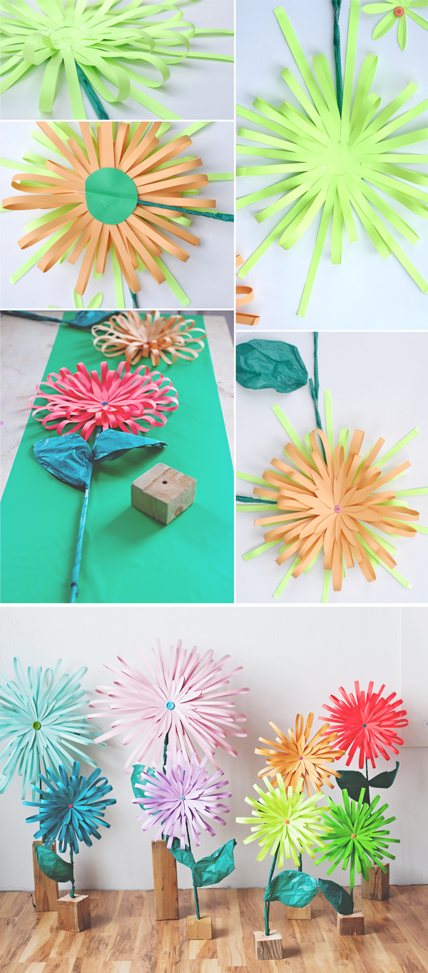 How to make a paper flower mightylinksfo