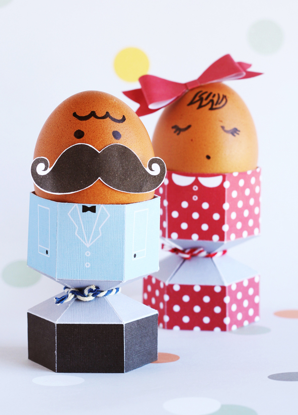 Easter Egg Craft template