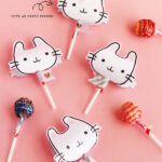 Bunnies lollipop covers