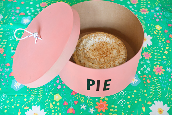 DIY pie box