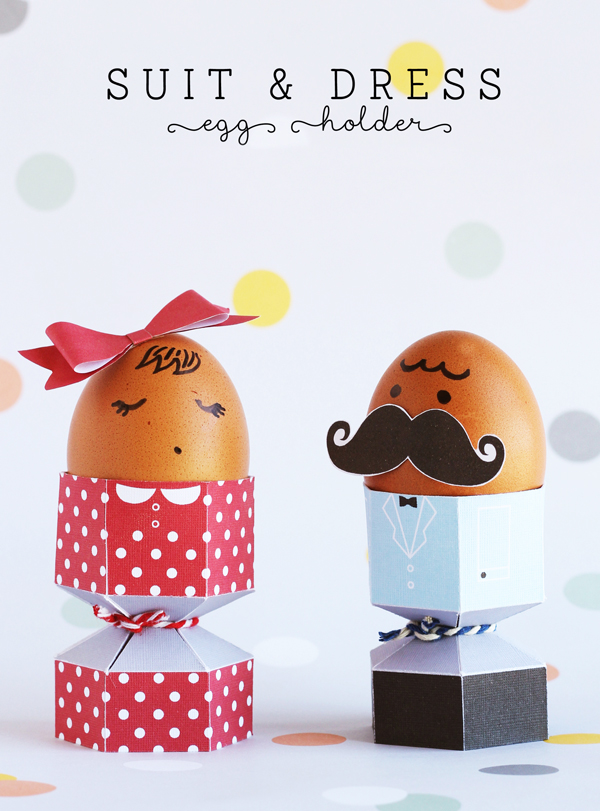 Dressed to party eggs
