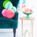 3 ways to brighten up a side table