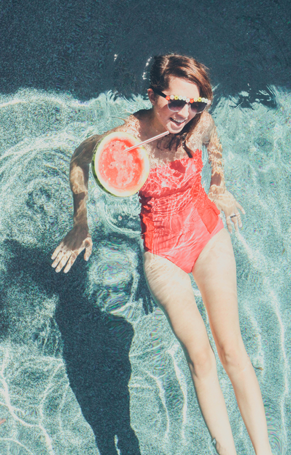 watermelon-swim