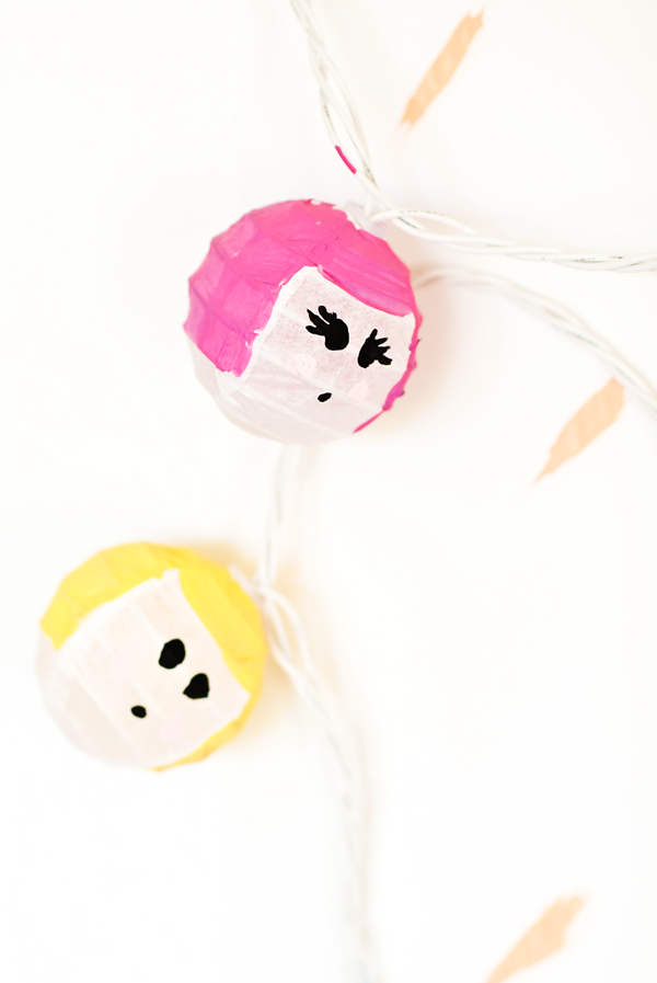 Bouffant Face Party Lights
