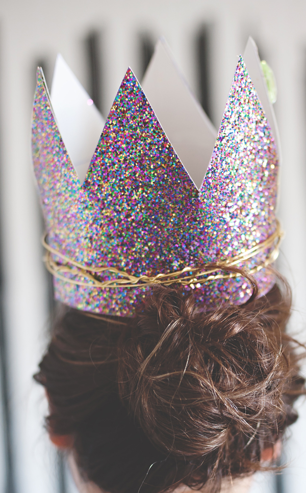 Glitter Twist Birthday Crowns A Subtle Revelry