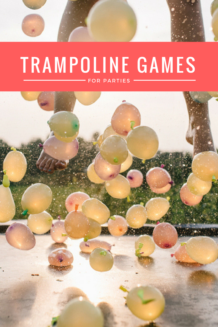 Trampoline Games For Parties
