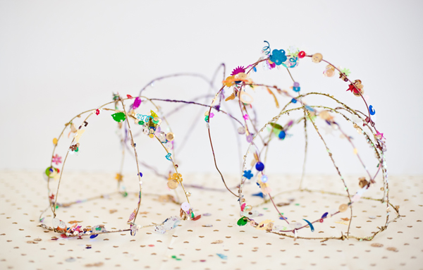 How to make Confetti sequin crowns