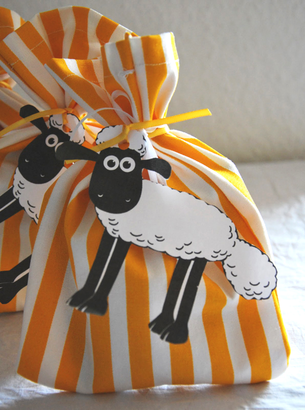 Shaun the sheep party bags