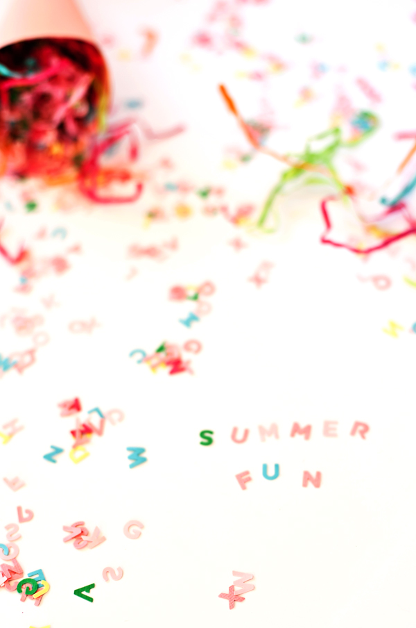 Make DIY confetti for your next party!