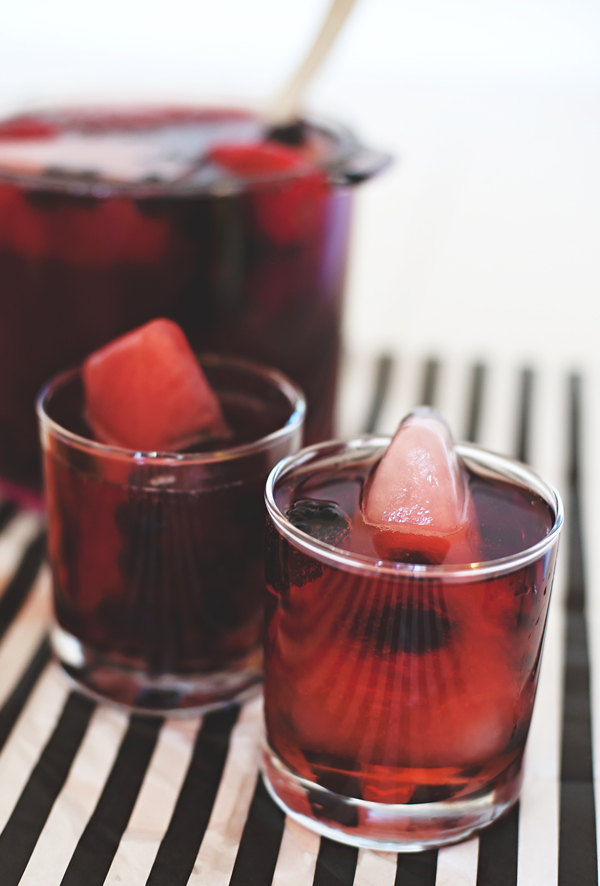 how to create wine ice cubes