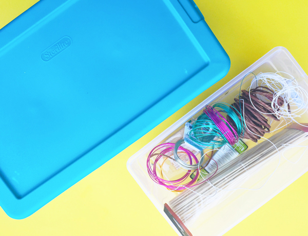 the best tips for organizing your craft supplies.