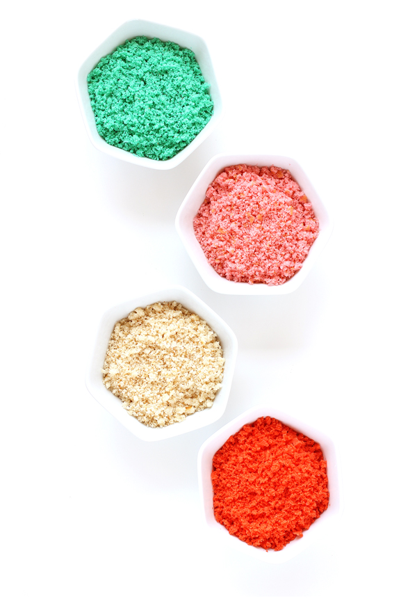 Colored sugar sand for a sand art cake!