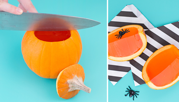 How to make Pumpkin jello shots