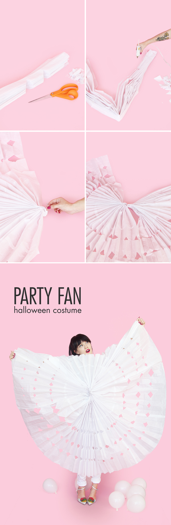 Party Fan Halloween Costume