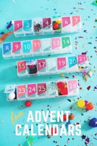 Fun advent calendar boxes