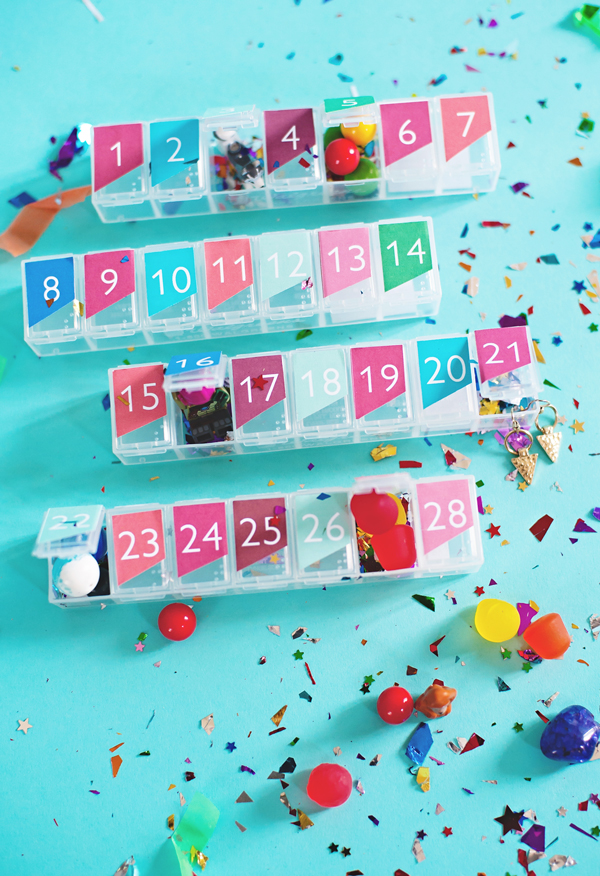 Pill Box Advent Calendar