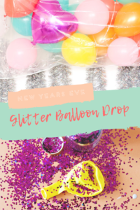 NYE Glitter Balloon Drop