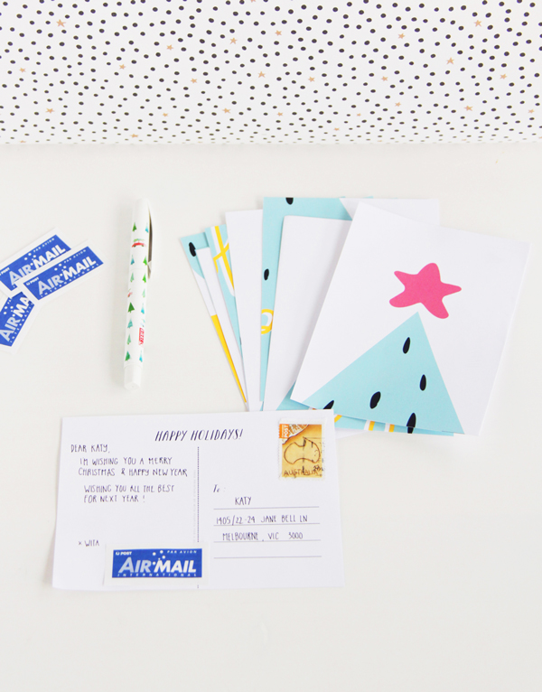 Christmas cards for groups