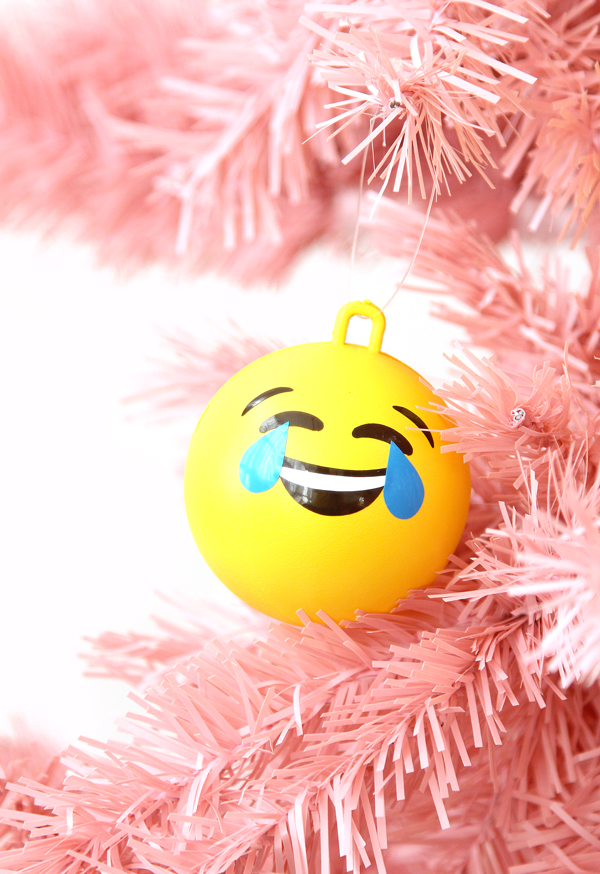 Big Ball Emoji Ornaments