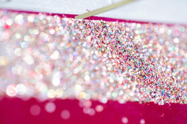 DIY Glitter Ribbon