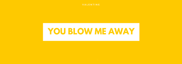 Party Blower Valentine Template