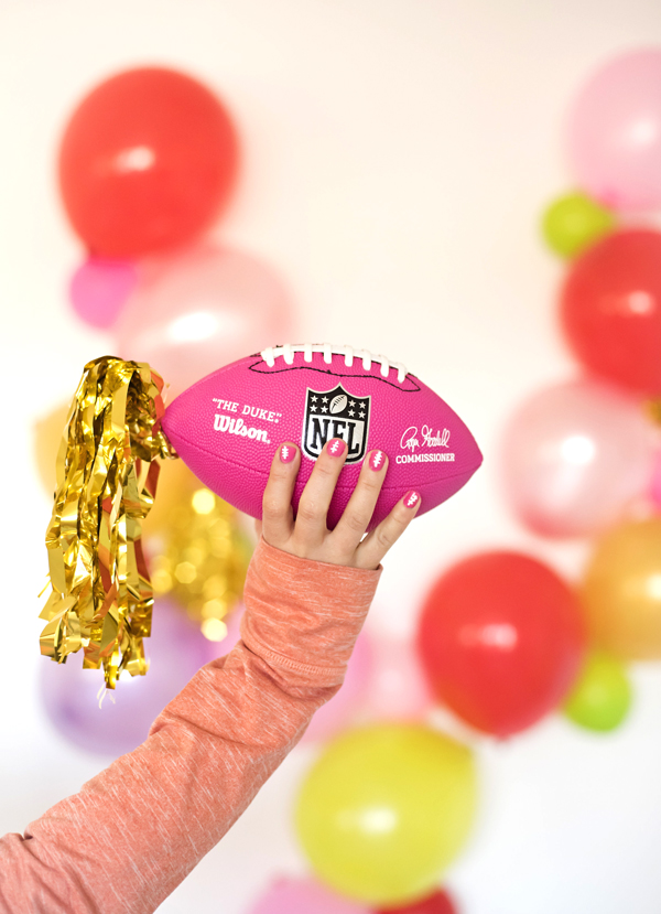 How to throw a pink Superbowl party!