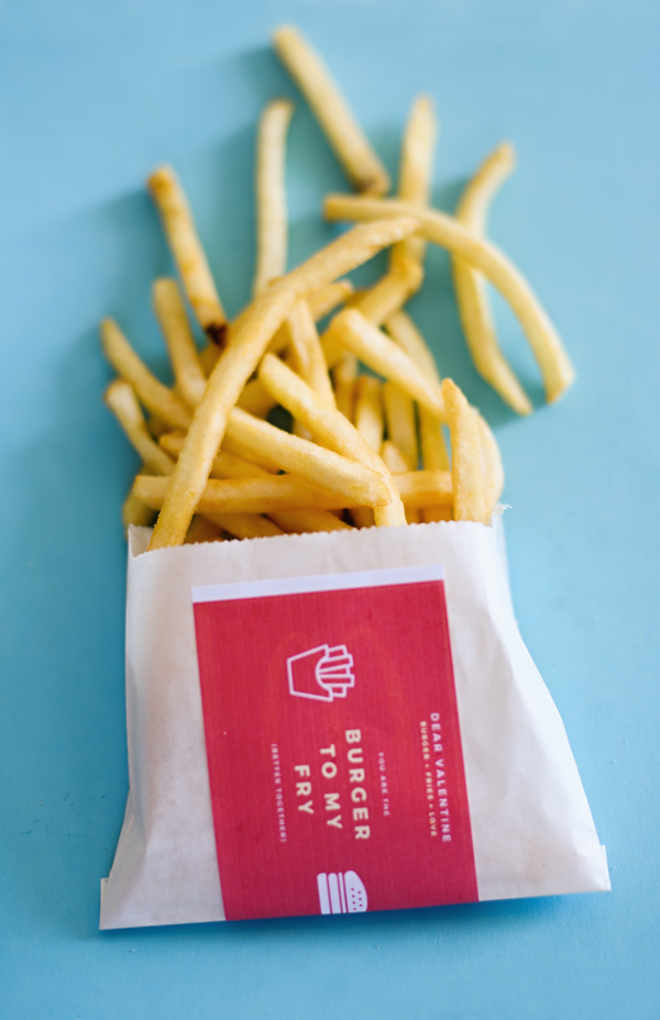 French Fry Valentine