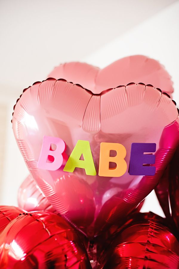 Valentine Day Balloon Surprise