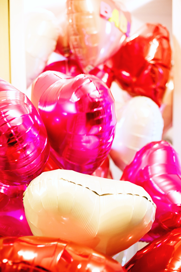Valentine day Balloon Shower Surprise