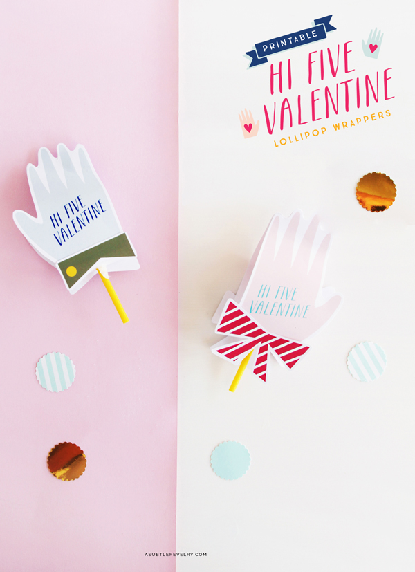 Hi Five Valentine