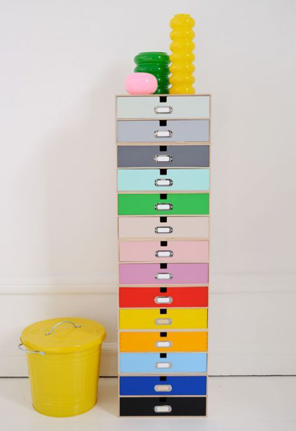 Ikea rainbow storage