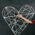 Graphic Tied Heart