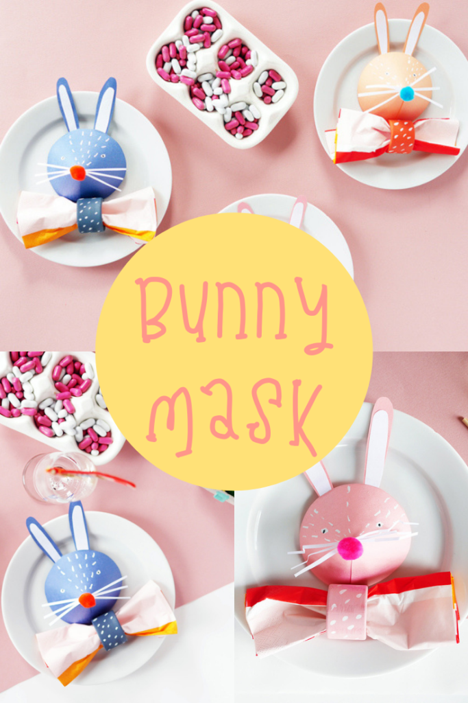 bunny head mask