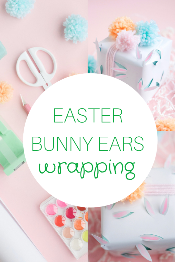 How To Draw Bunny Ears On The Cutest Easter Gift Wrap A Subtle Revelry