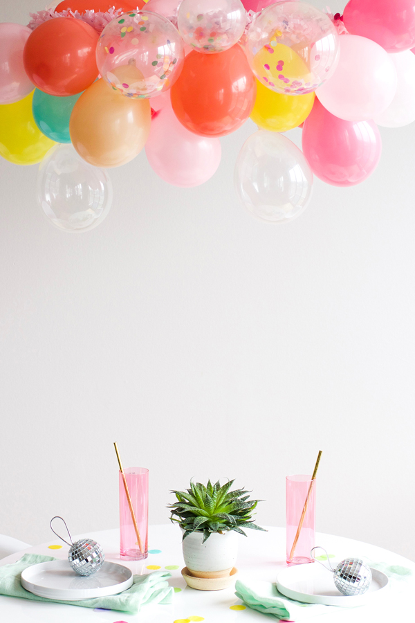Balloon chandelier a subtle revelry balloon chandelier mozeypictures Choice Image
