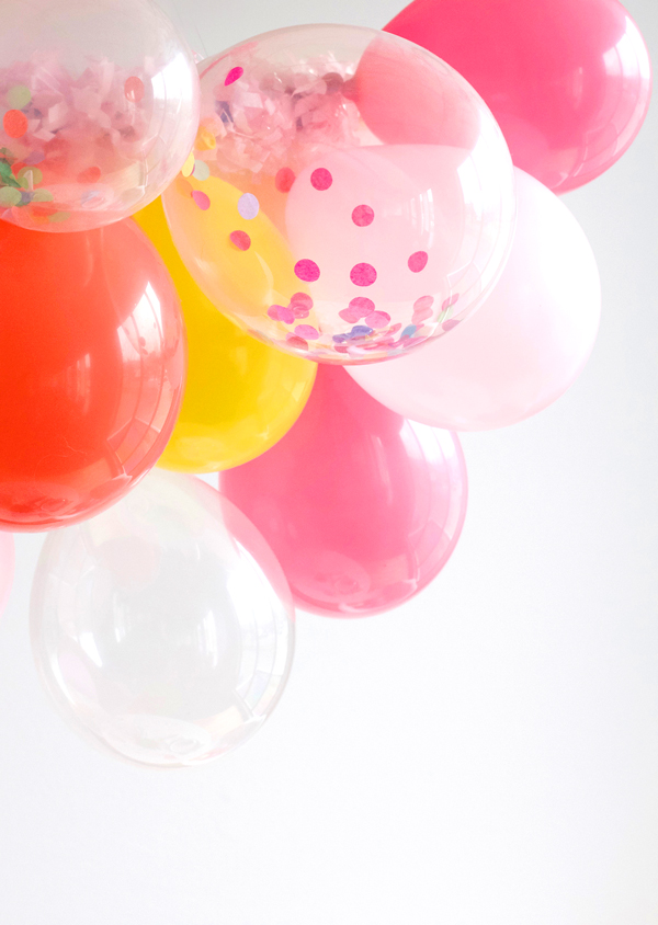 Party Balloon Chandelier