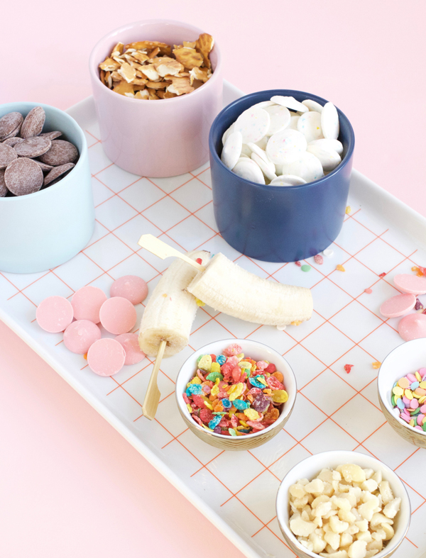 Birthday Cake Frozen Bananas
