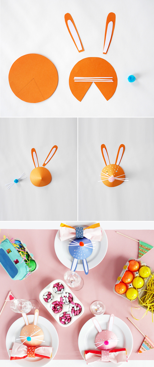 How to make easter bunny crafts