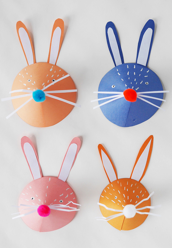 DIY Paper Bunny Heads