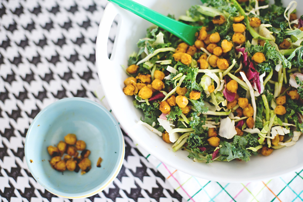 yummy chickpea salad