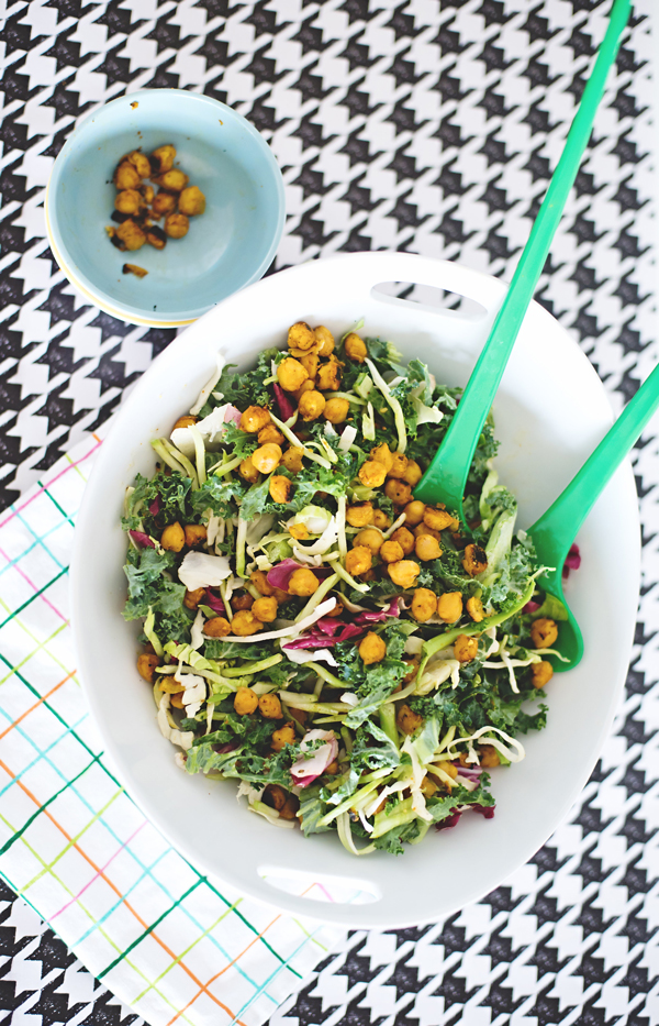 Toasted Chickpea Salad – A Subtle Revelry