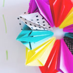 Diamond Paper Wreath