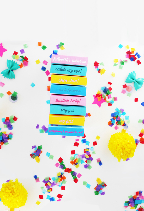 matchbox party favors