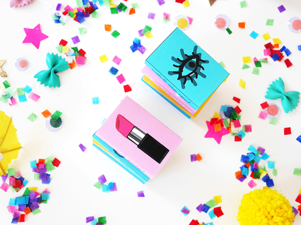 DIY Printable Matchbox Party Favors