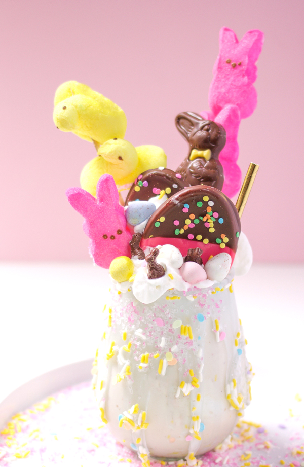 Crazy Peep Milk Shakes