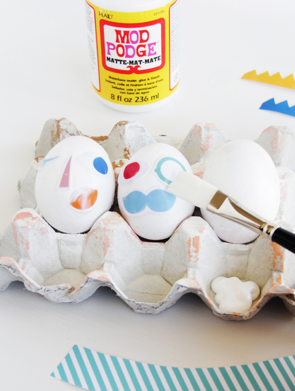 Silly Face Easter Egg Printable