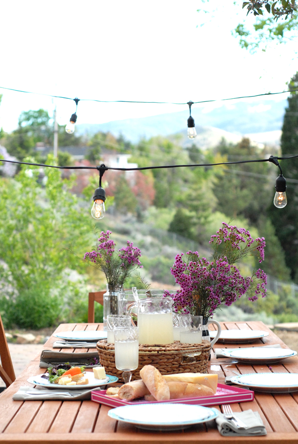 A Patio Ready To Brunch