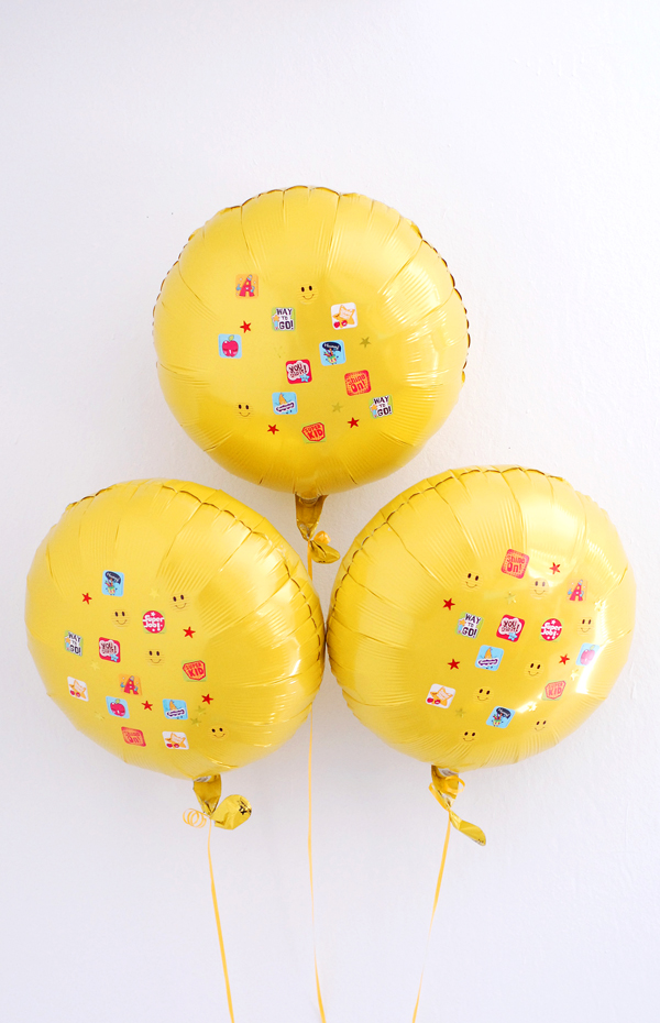 Graduation celebration Ideas Balloons