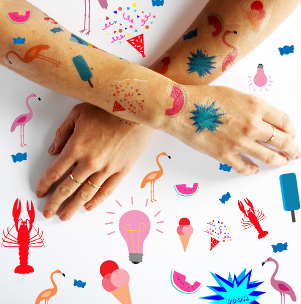 Printable Summer Tatoos