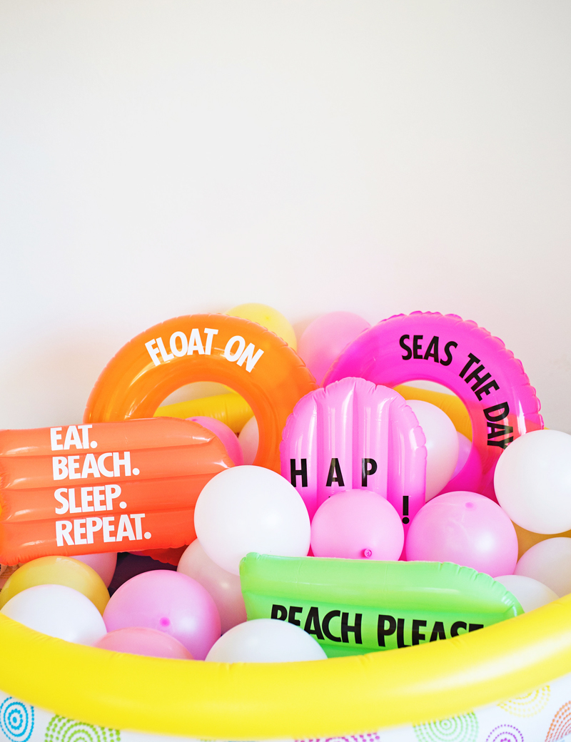 DIY Graphic Floats